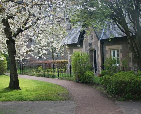 Domek i ogród w angielskim stylu
