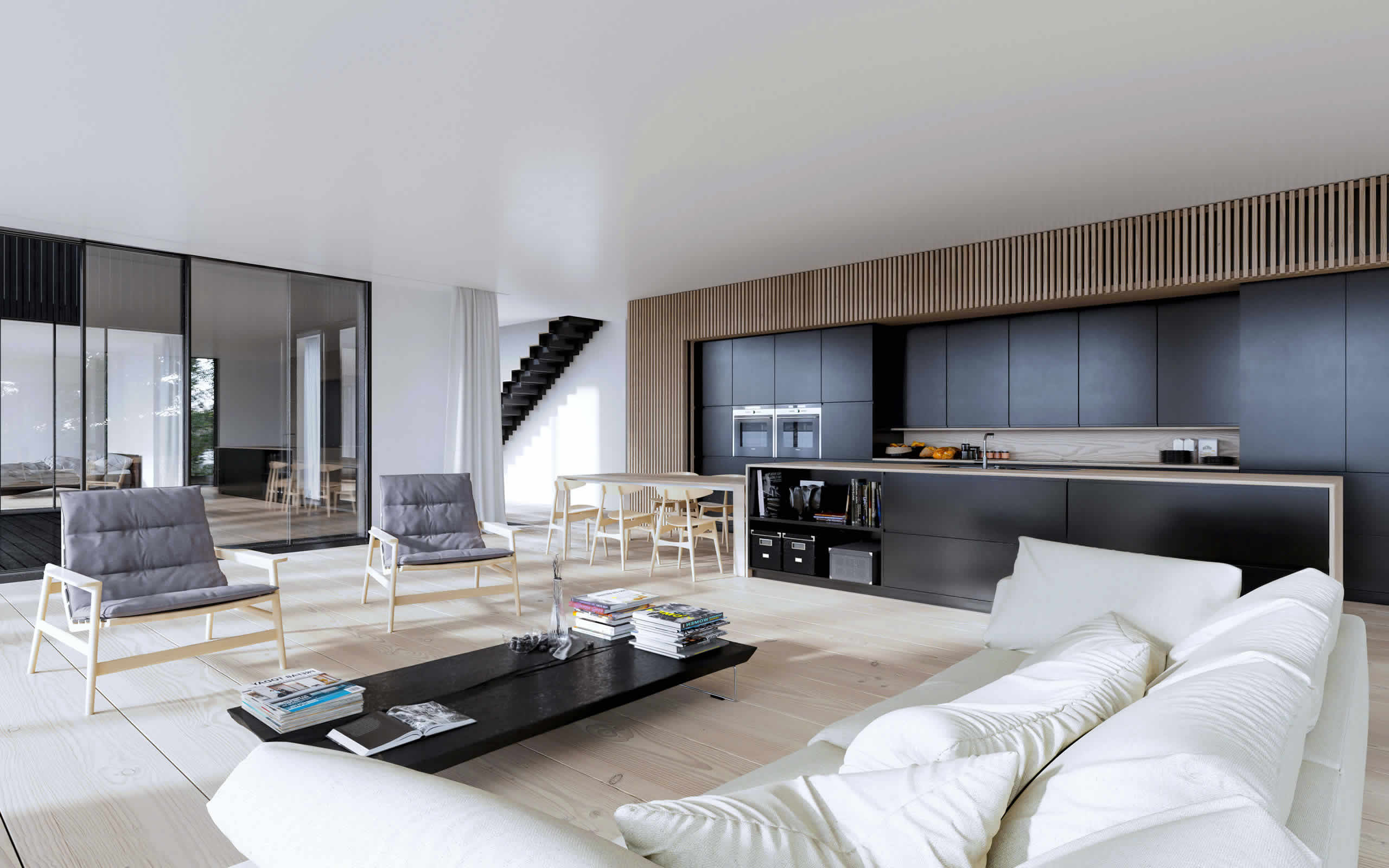 Otwarta kuchnia w bieli hola design homesquare - Otwarta Kuchnia W Bieli Hola Design Homesquare 23