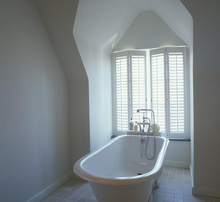 Wszechogarniająca Biel łazienki Inspiracja Homesquare