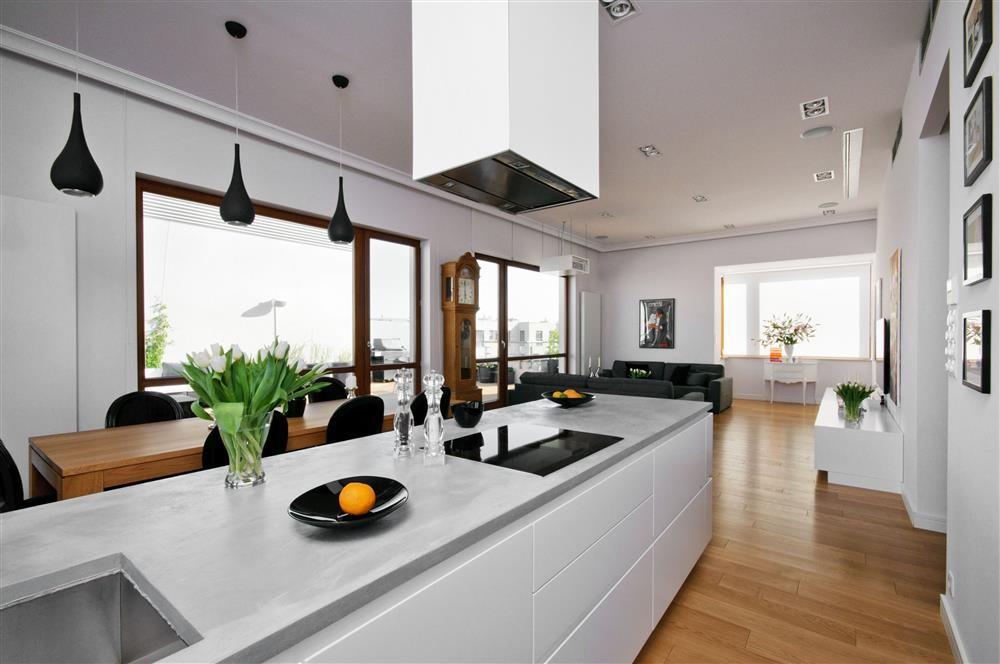 ekskluzywny penthouse kuchnia inspiracja homesquare. Black Bedroom Furniture Sets. Home Design Ideas