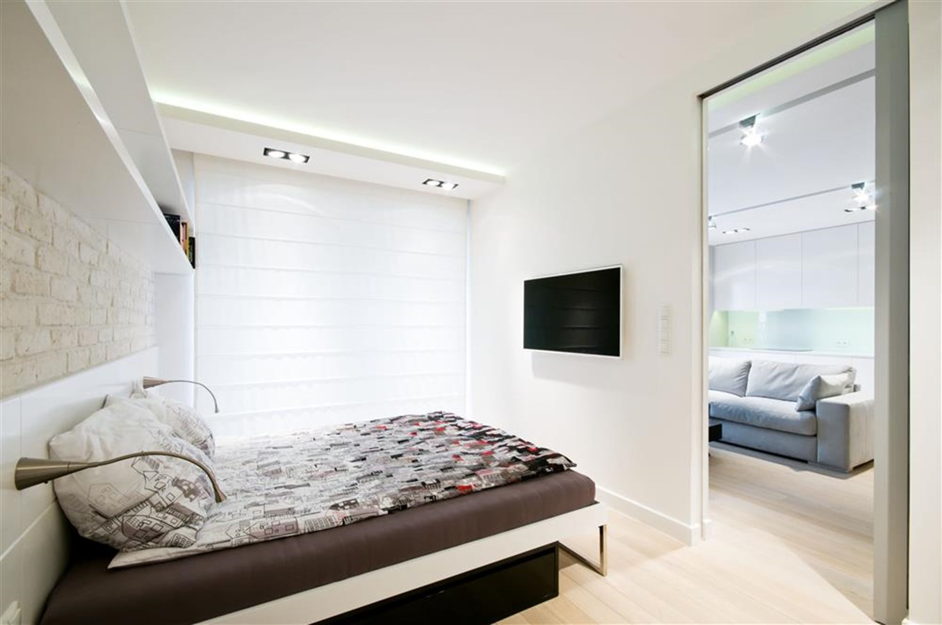 Biała Sypialnia W Nowoczesnym Stylu Inspiracja Homesquare