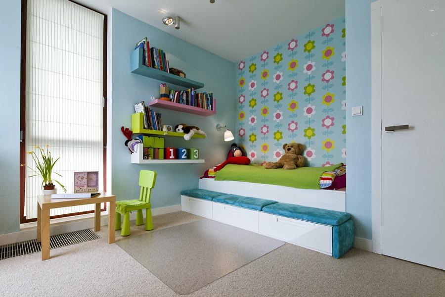 Kolorowy pokój dziecięcy - pokoje dla dzieci