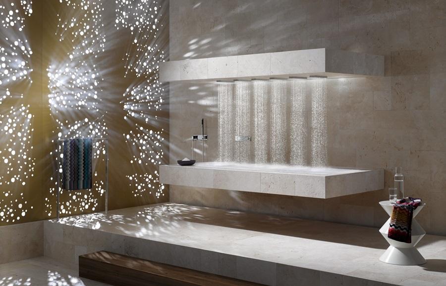 Nowoczesny Prysznic Horizontal Shower Nowe Horyzonty
