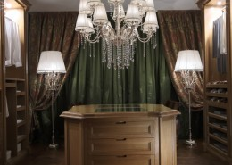 klasyczna garderoba – nietuzinkowe oświetlenie