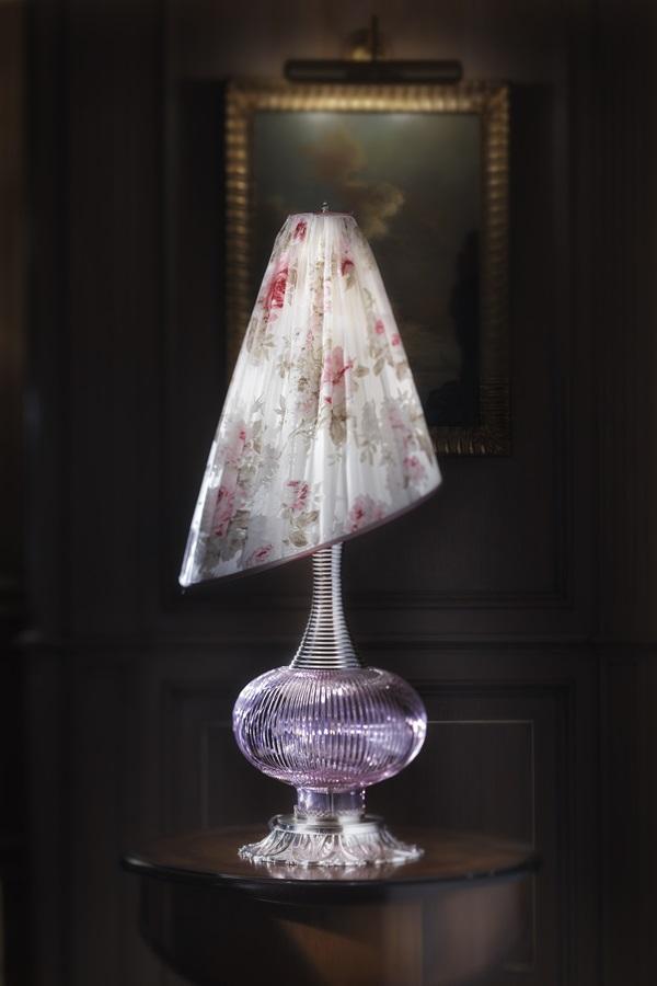 Lampa z kryształu florenckiego