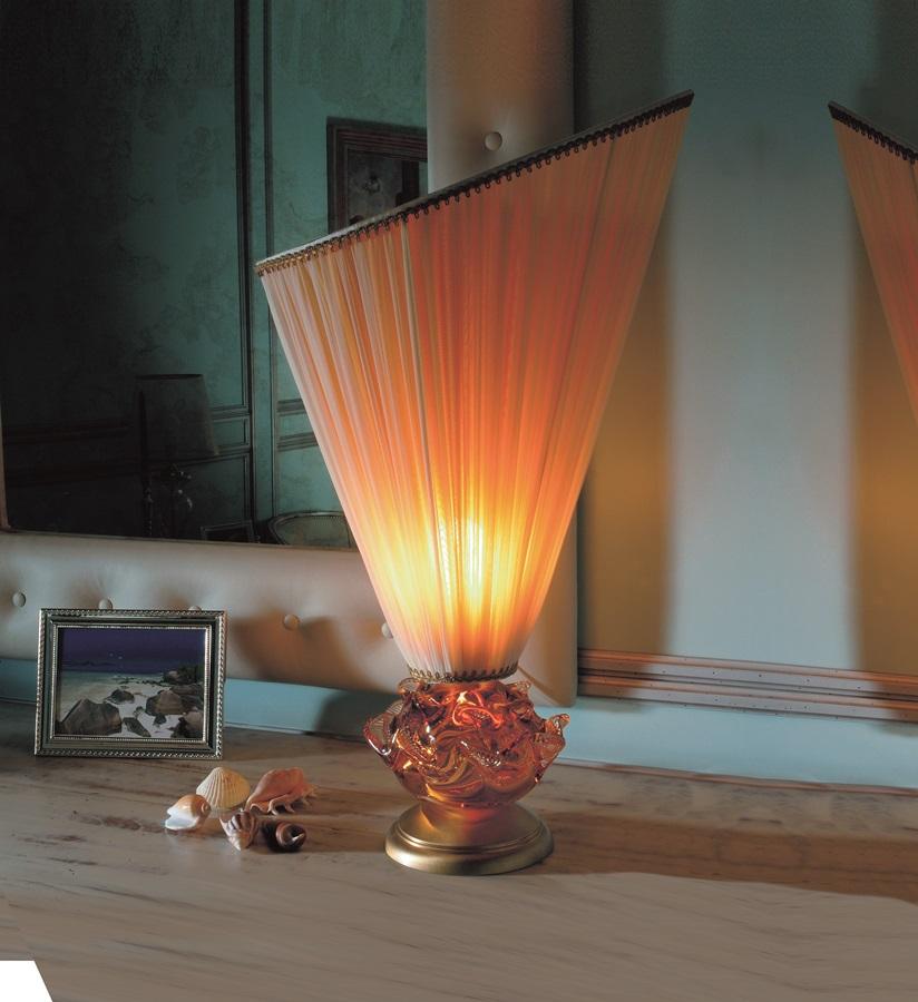 Lampa ze szkła Murano