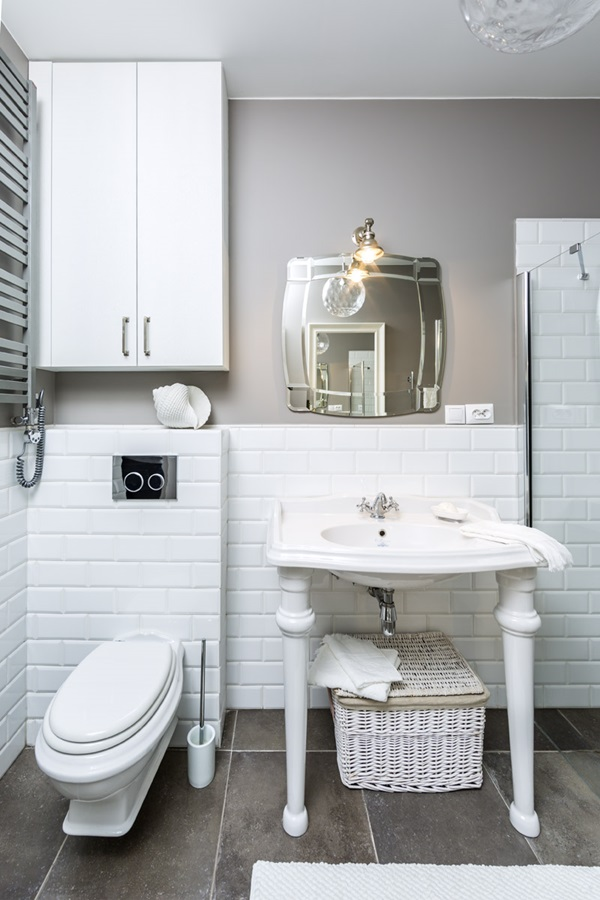 Lazienka Vintage W Bieli Inspiracja Homesquare