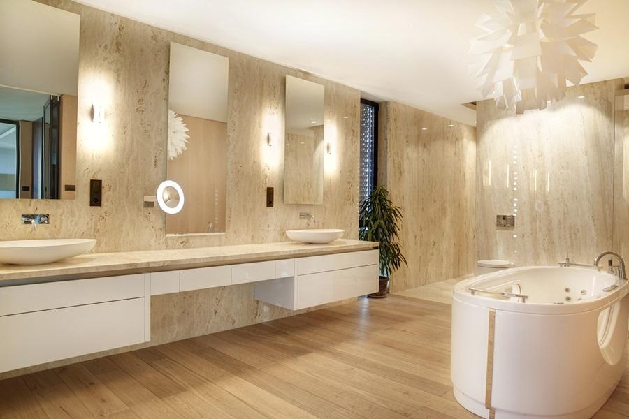 łazienka W Kamieniu Naturalnym Inspiracja Homesquare