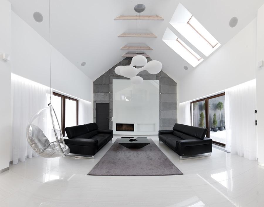 Przestrzenny salon