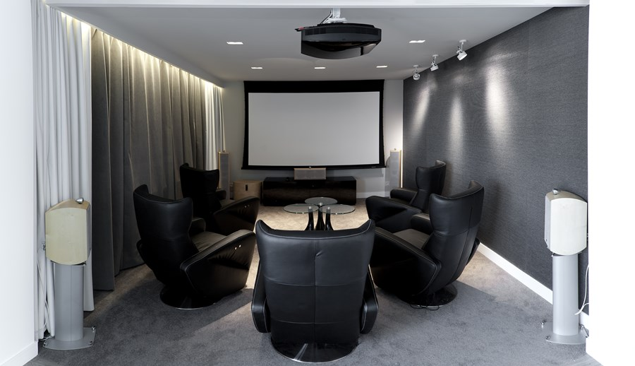 Ekskluzywny pokój audiofilski
