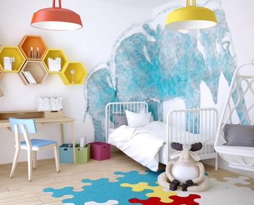 Ciekawy pokój dla dziecka