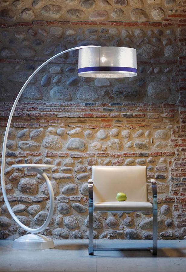 Ekskluzywne oświetlenie – kącik wypoczynkowy