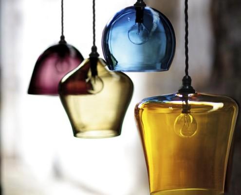 Lampy ze szkła - szklane lampy - Curiousa & Curiousa