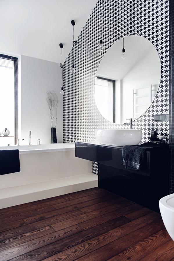 Styl nowoczesny w łazience