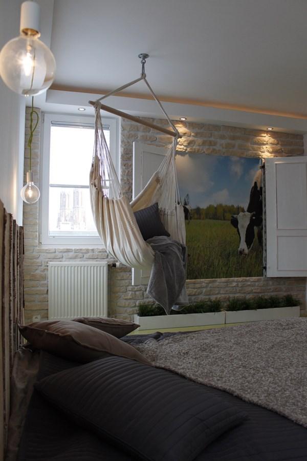 Styl eko w sypialni - dekoracje do sypialni