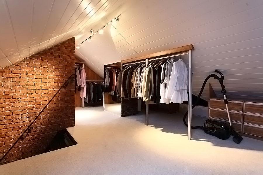 Garderoba Na Poddaszu Inspiracja Homesquare