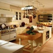 Kuchnia w stylu rustykalnym - aranżacje
