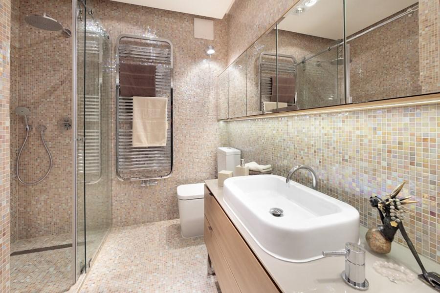 łazienka W Mozaice Inspiracja Homesquare