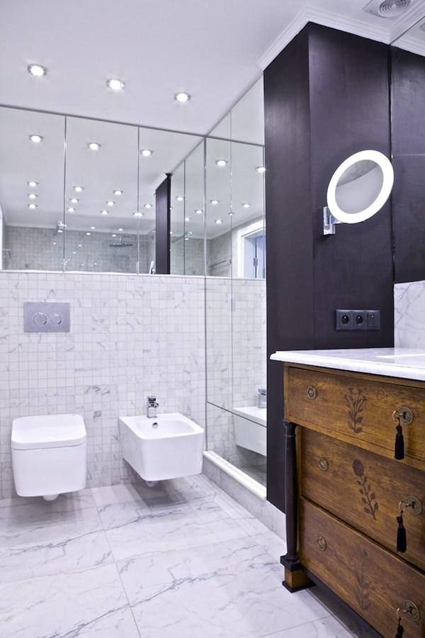 Stylowa łazienka O Niewielkim Metrażu Inspiracja Homesquare