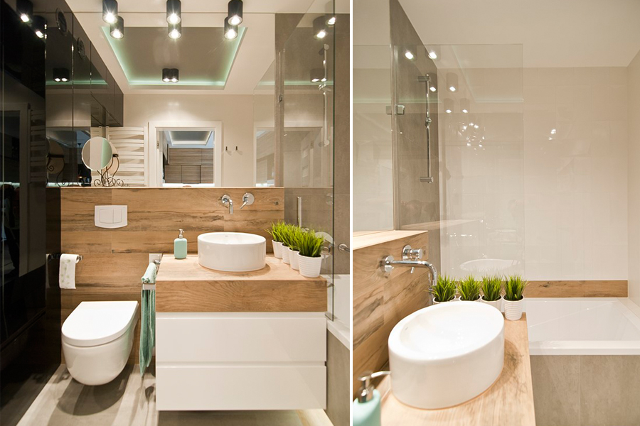 Mała łazienka - pomysł na małą łazienkę