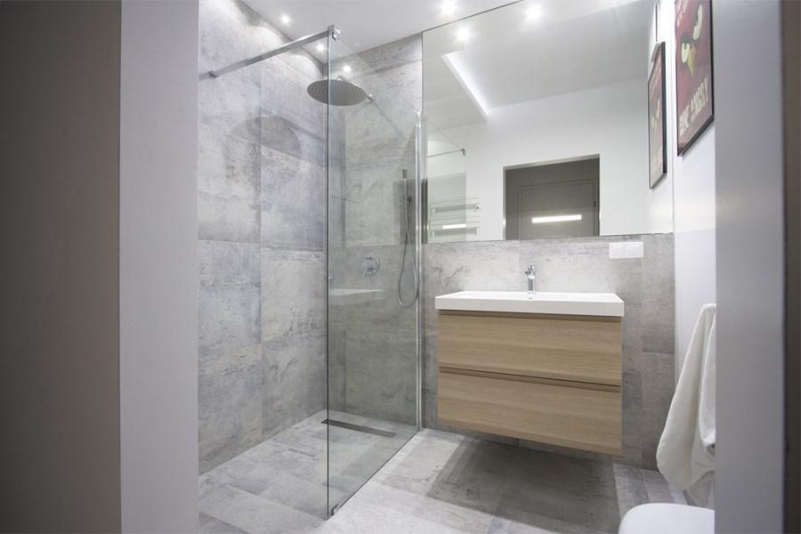 Mała łazienka W Jasnych Barwach Inspiracja Homesquare