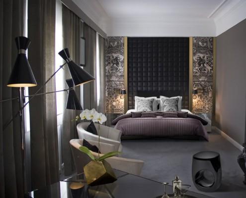 Sypialnia w stylu eklektycznym