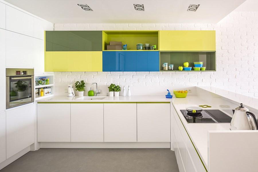 Biała kuchnia w nowoczesnym stylu