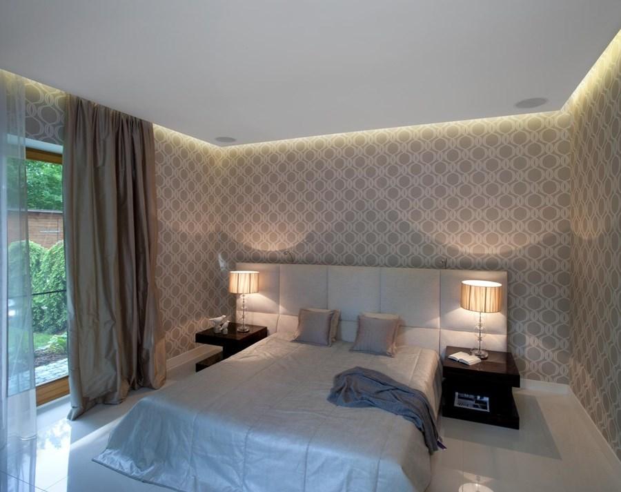 Ciekawe tapety do sypialni – pastelowa sypialnia