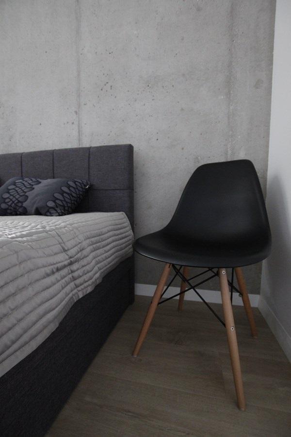 nowoczesna sypialnia w szarościach inspiracja homesquare