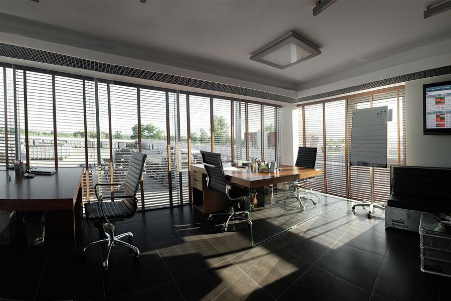 nowoczesne biuro w drewnie inspiracja homesquare
