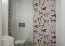 Pomysłowa łazienka- styl nowoczesny