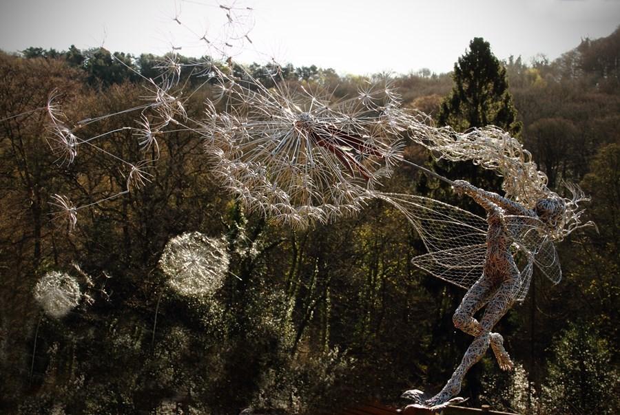 Rzeźby ogrodowe z metalu