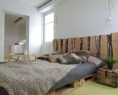 Styl eko w sypialni – oryginalna sypialnia