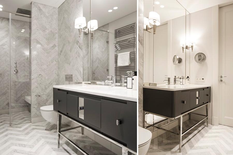 Stylowe meble łazienkowe - pomysł na małą łazienkę