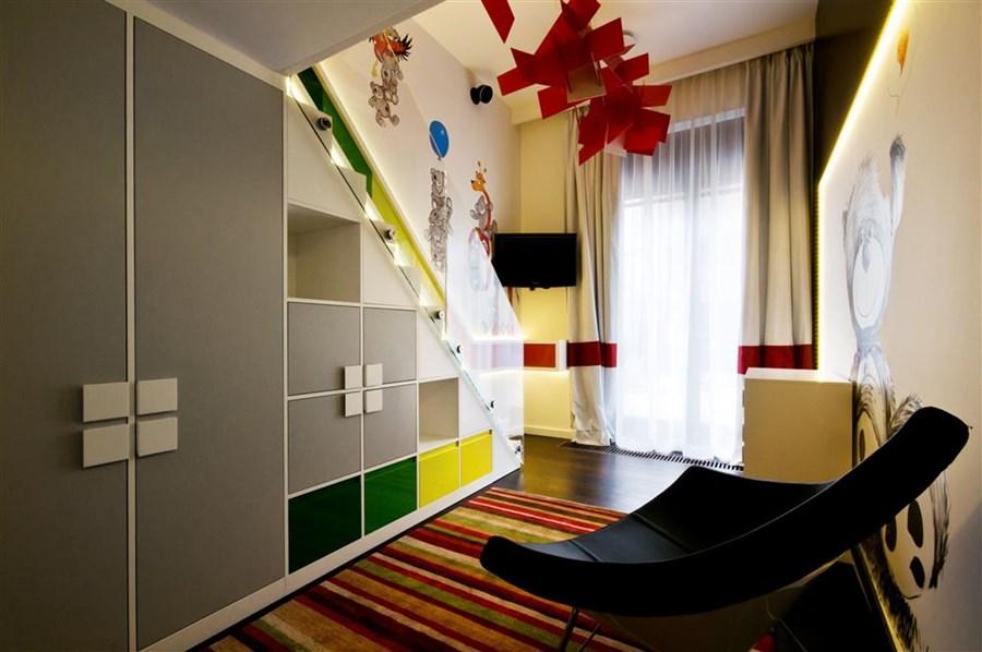 Antresola w pokoju dziecięcym