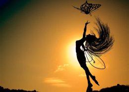 Anahi Sunset - ozdoby ogrodowe wróżki