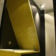 Czarno-żółta łazienka