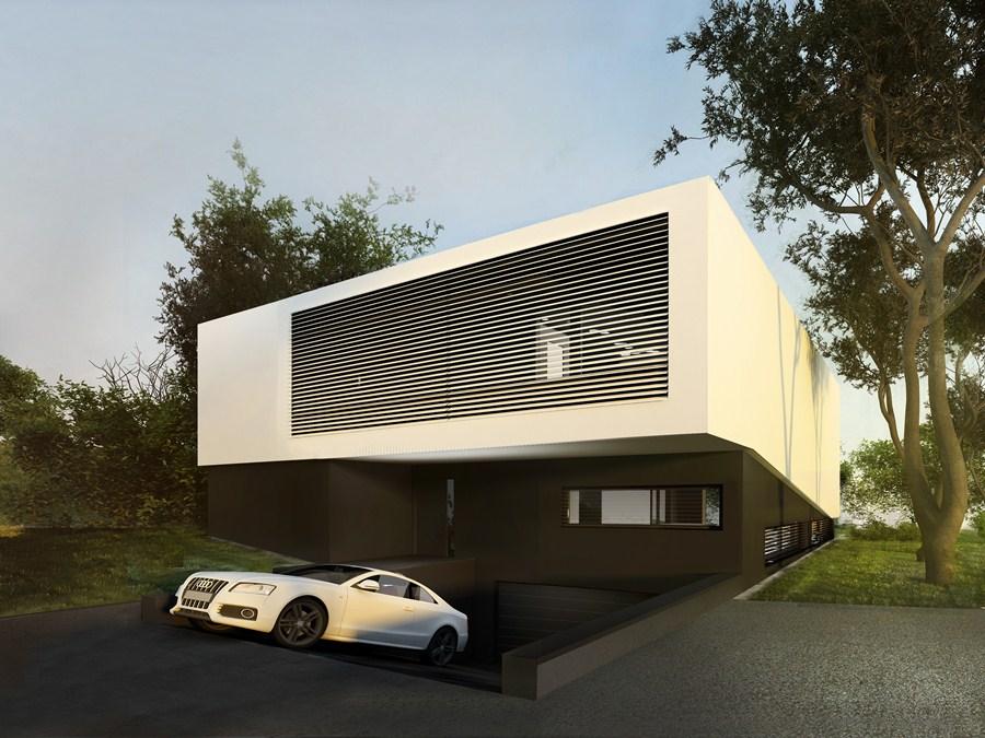 Double skin house