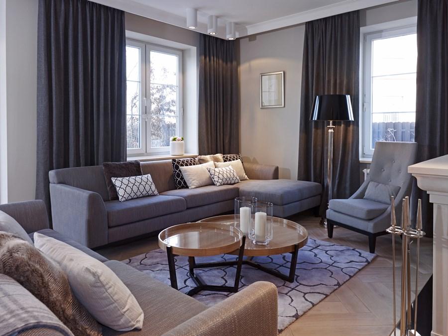salon w stylu modern classic