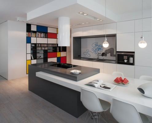 Nowoczesna kuchnia w bieli - jak urządzić kuchnię
