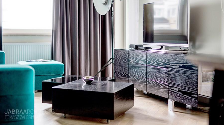 Drewniane nowoczesne meble