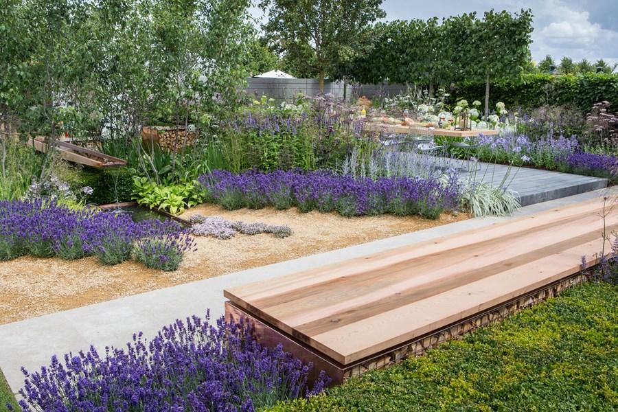 Nowoczesny ogród - Hampton Court Palace Flower Show