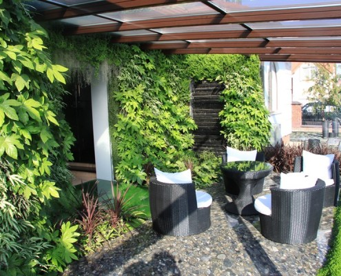 Ogród na ścianie
