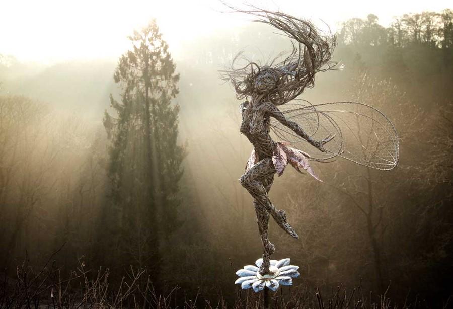 Trillian Mist - rzeźby ogrodowe