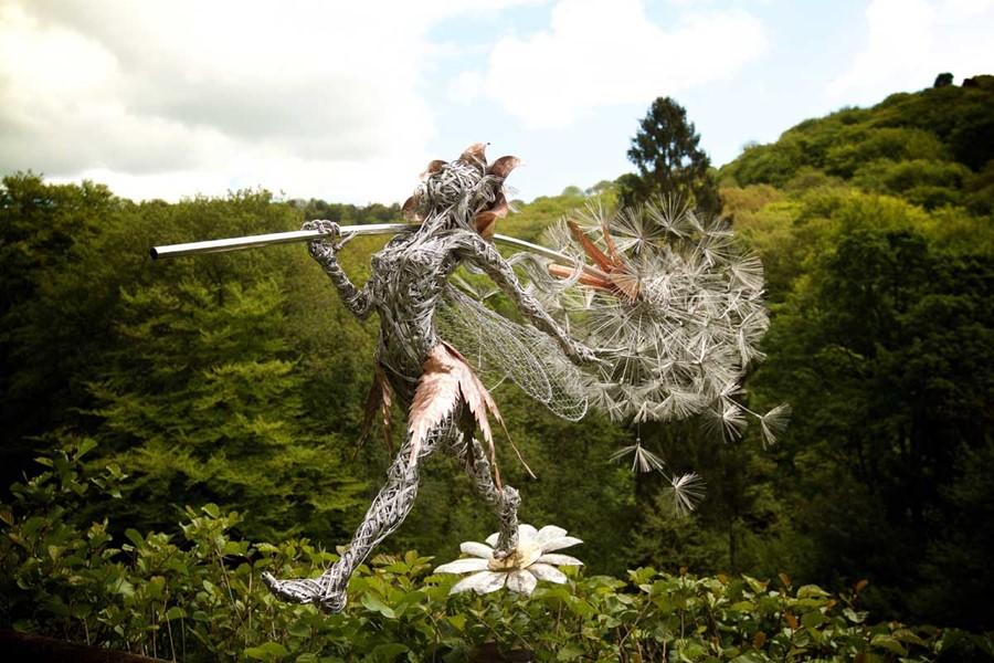 Whimsys Pride - rzeźby do ogrodu
