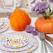 Jesienne dekoracje stołu