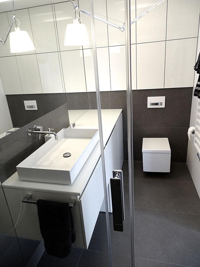 Nowoczesna łazienka Z Prysznicem Inspiracja Homesquare