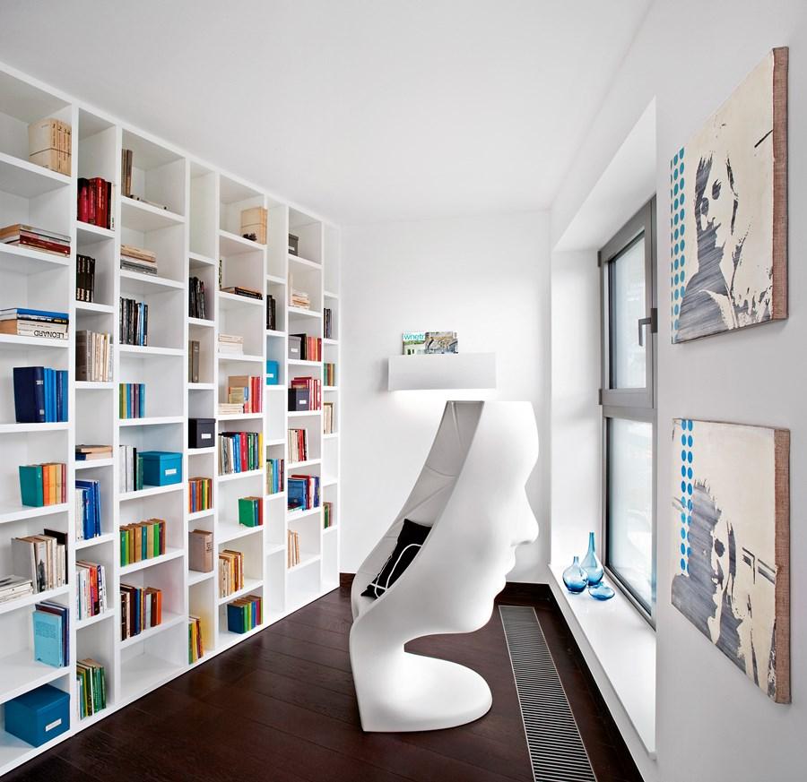 Domowa Biblioteka W Nowoczesnej Formie Inspiracja Homesquare