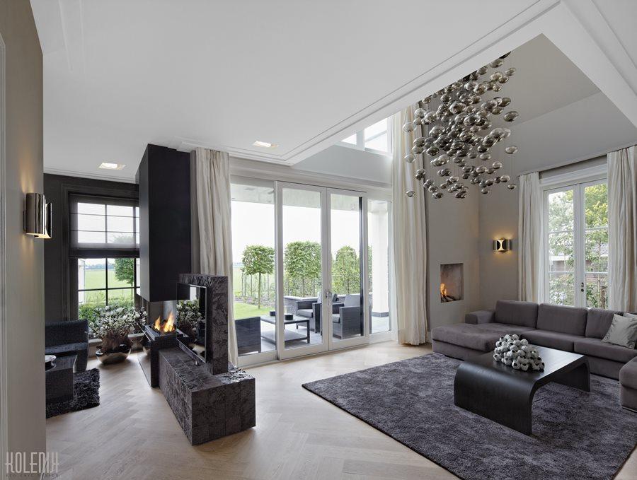 Luksusowy salon luksusowe wnętrza Robert Kolenik