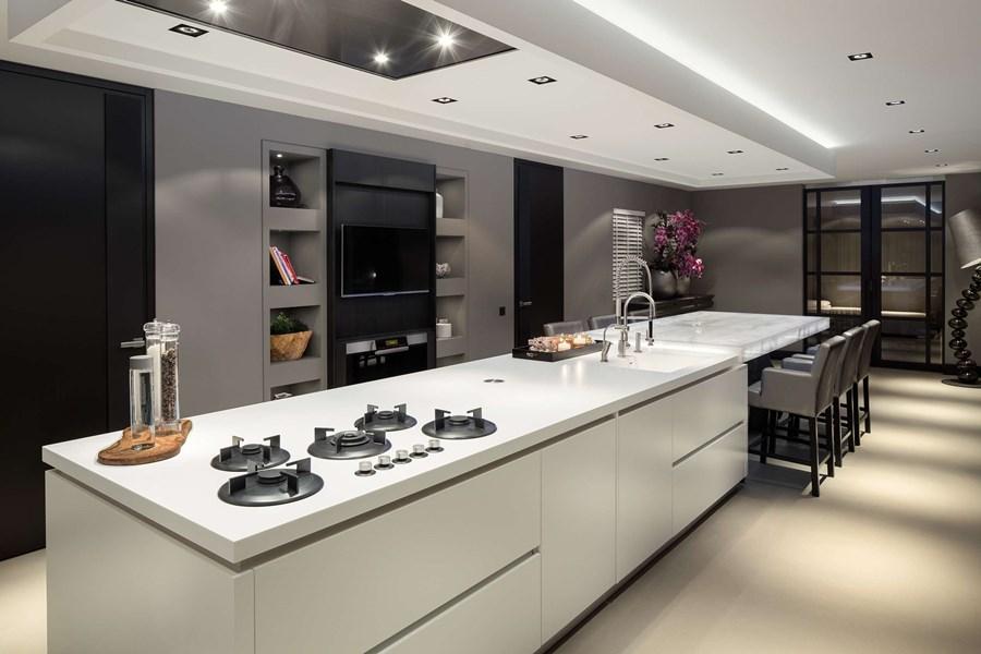 Kuchnia w stylu eko luksusowe wnętrza Robert Kolenik
